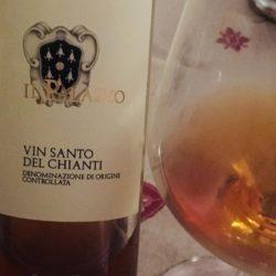"""""""Vino Xàntos"""" o """"vinsanto"""" per un piacevole fine pasto"""